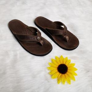 Keen Women's Florence Leather Flip Flops Size 6-7